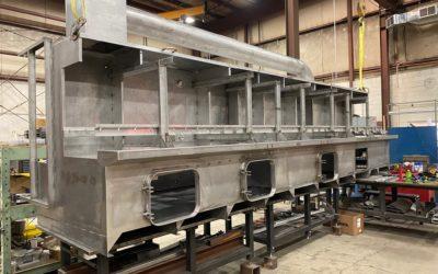 Custom Built Stainless Steel Tank